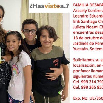 Familia meridana desaparecida
