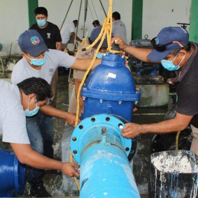 Mejoran el suministro de agua potable en Ciudad Caucel