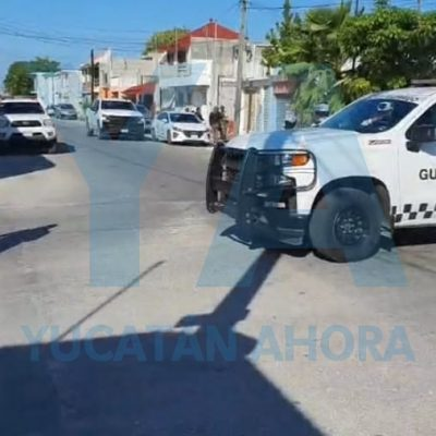 Cateo antidrogas en Progreso: tres detenidos