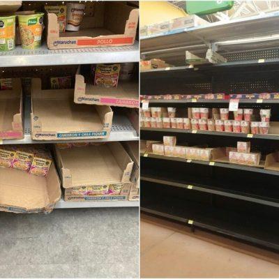 Reportan supuestas compras de pánico de sopas instantáneas tras anuncio de Profeco