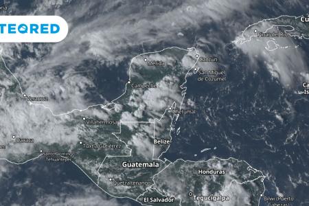 Se aproxima a la Península de Yucatán nueva onda tropical