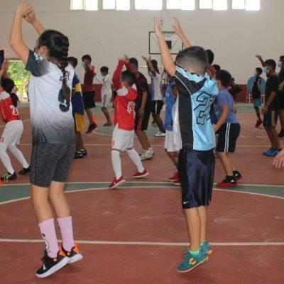 Muchos niños y jóvenes acuden a la detección de talentos en Valladolid