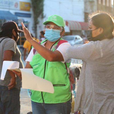 Hoy, la cifra más baja de contagios de Covid-19 en 144 días en Yucatán