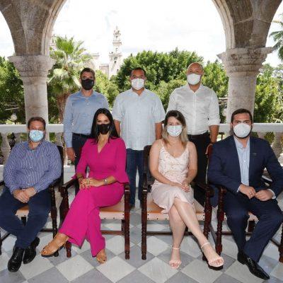 Acuerda Mérida nuevos proyectos urbanos y culturales con Sudamérica