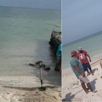 Denuncia ciudadana evita la construcción de un nuevo espolón en Chelem