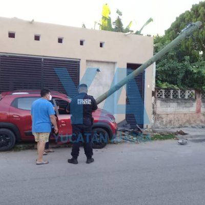 Conductora costeada: choca y no tiene seguro de auto