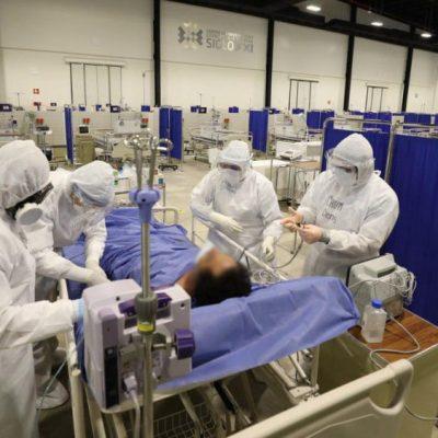 Gobierno del Estado apoya para aumentar camas, personal y equipamiento del HRAE