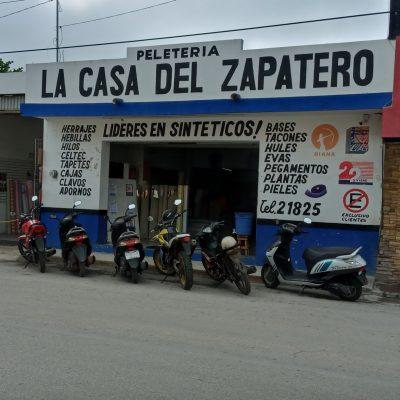 Zapateros de Ticul enfilan sus pasos hacia Belice para recuperar mercados