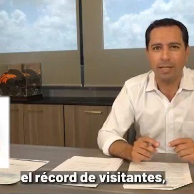 Unidos hemos trabajado 3 años, ahora sigamos construyendo juntos el Yucatán del futuro: Mauricio Vila